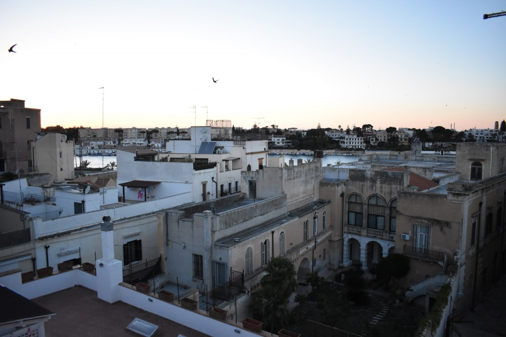 Brindisi AirBnB Balcony View