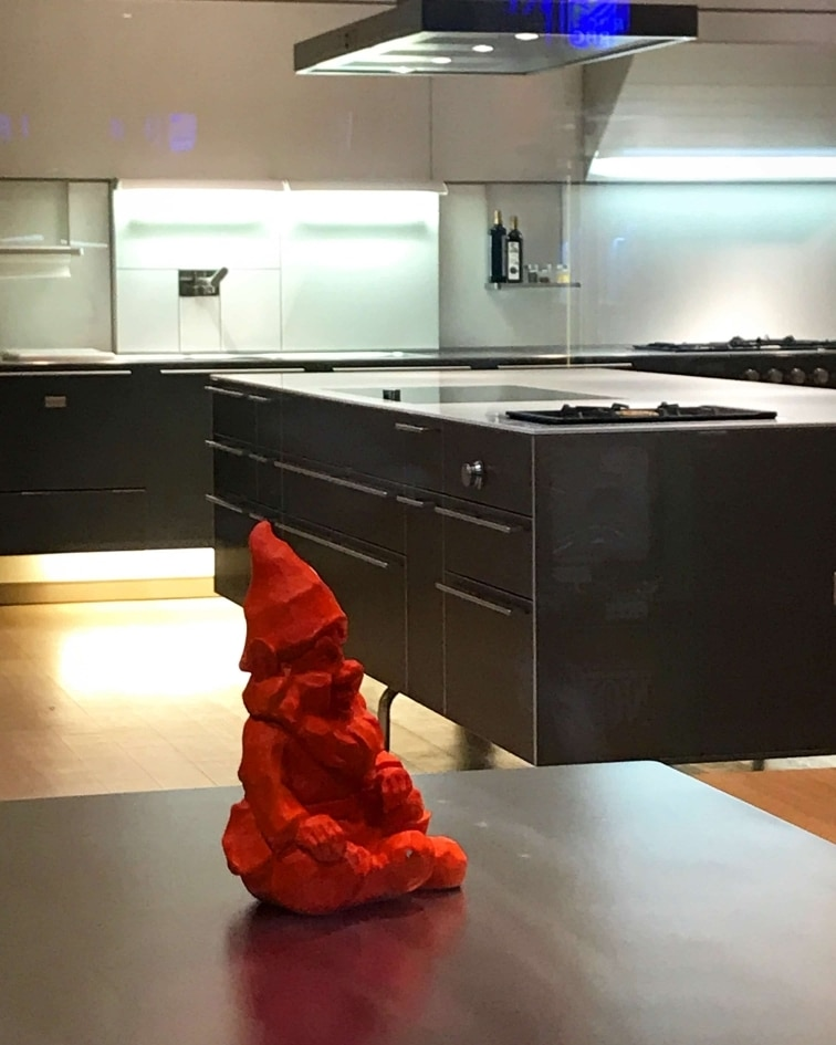Rando Fancy Toronto Kitchen Gnome